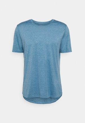 Basic T-shirt - mykonos blue