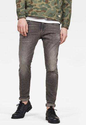 REVEND - Slim fit jeans - grey