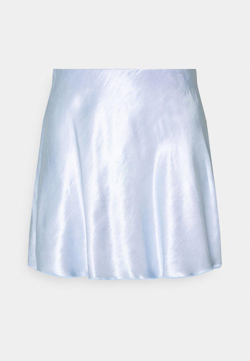 Weekday - SHORTY SKIRT - Áčková sukně - blue light