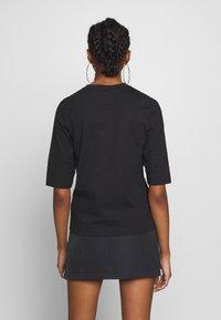 adidas Originals - FAKTEN TREFOIL SHORT SLEEVE TEE - Print T-shirt - black - 2