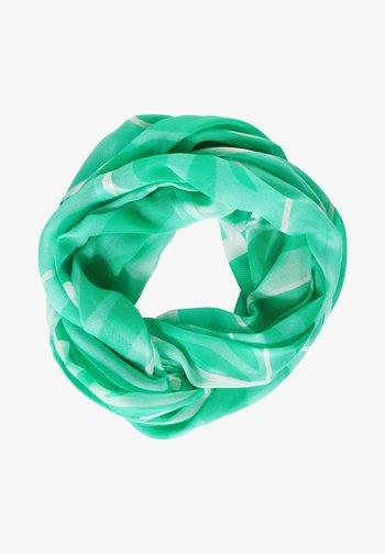 MIT PRINT - Snood - grün