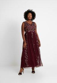 Lace & Beads Curvy - ATLANTIS MAXI - Occasion wear - burgundy - 1