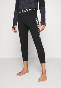 Mons Royale - SHAUN OFF 3/4 LEGGING - Dlouhé spodní prádlo - black - 0