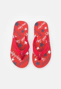 Tommy Hilfiger - T-bar sandals - red - 3