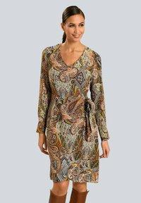 Alba Moda - Day dress - camel beige schwarz - 0