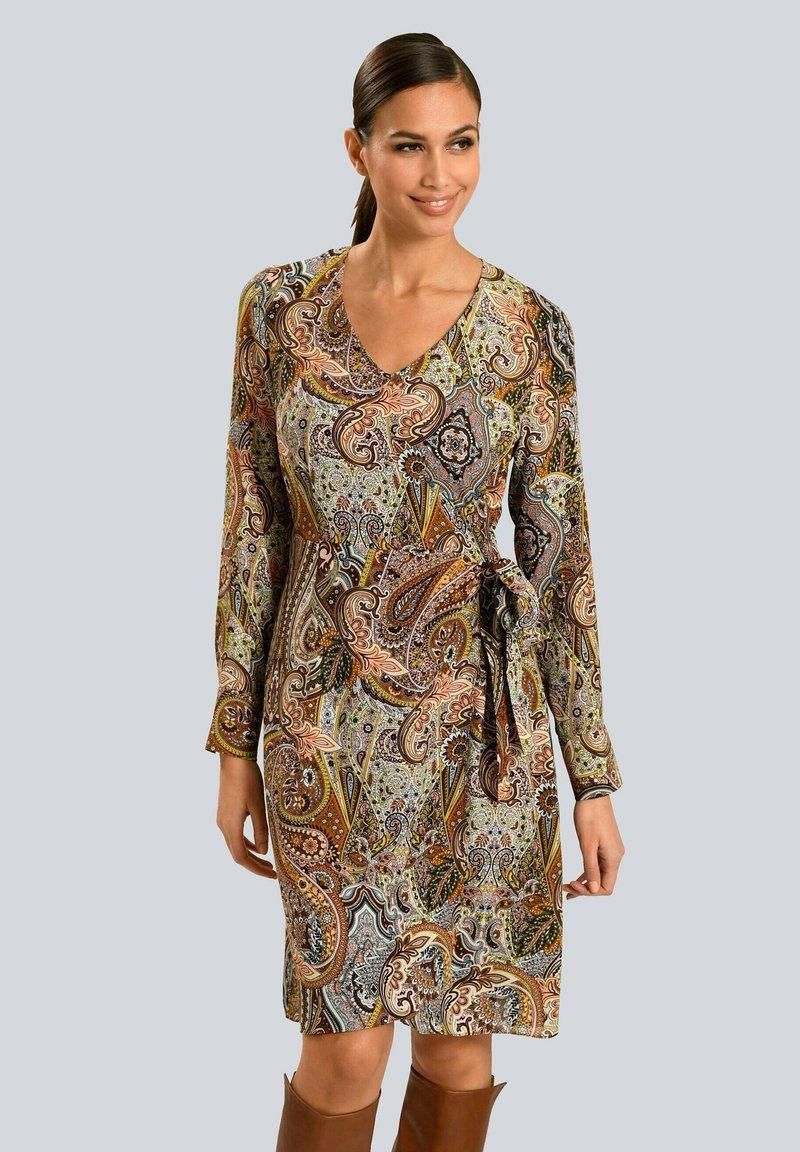 Alba Moda - Day dress - camel beige schwarz