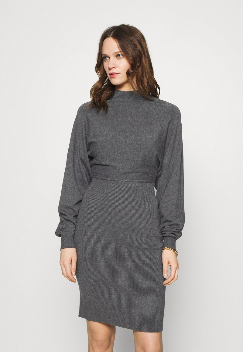 Zign - Shift dress - mottled dark grey