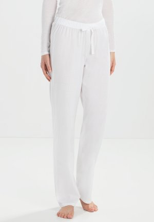 COTTON DELUXE - Pyjama bottoms - white