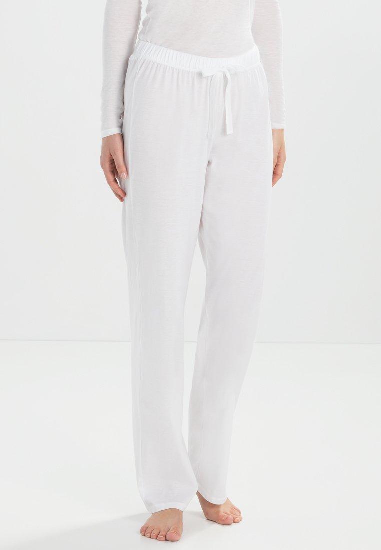 Hanro - COTTON DELUXE - Pyjama bottoms - white