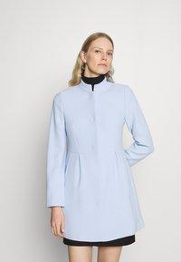 Esprit Collection - SHORT COAT - Short coat - pastel blue - 0