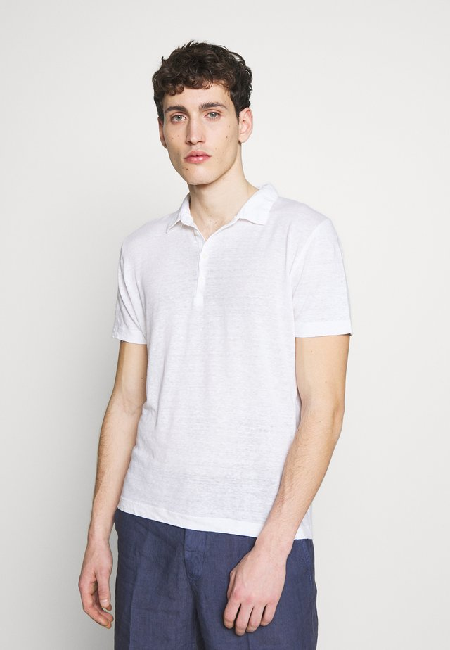 Polo shirt - white solid
