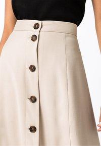 HALLHUBER - A-line skirt - hellbeige - 2