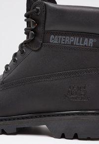 Cat Footwear - COLORADO - Šněrovací kotníkové boty - all black - 8