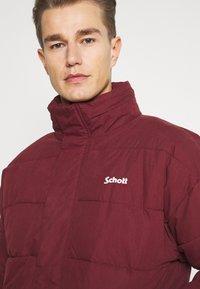 Schott - NEBRASKA - Winter jacket - bordeaux - 4
