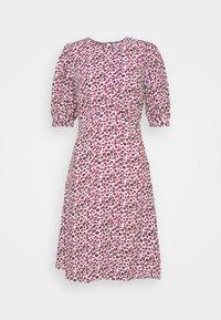 Closet - CLOSET PUFF SLEEVE A LINE DRESS - Day dress - pink - 0