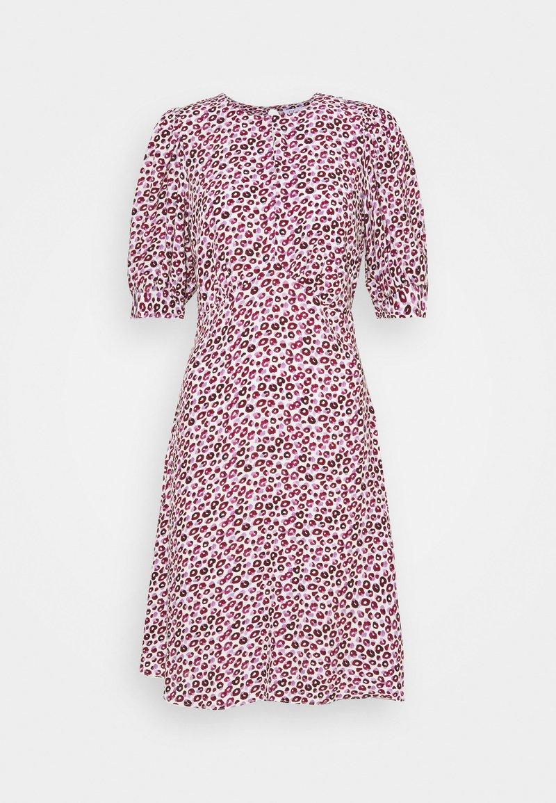 Closet - CLOSET PUFF SLEEVE A LINE DRESS - Day dress - pink