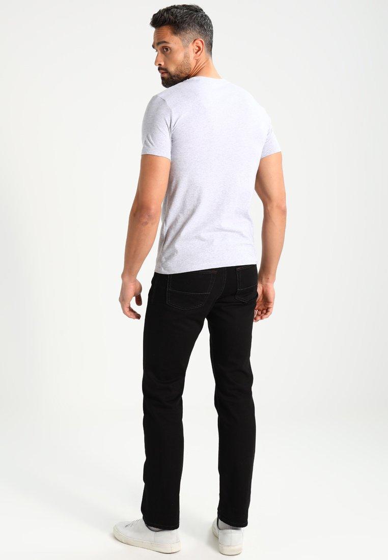 Marc O'Polo C-NECK - Basic T-shirt - grey mHLWc