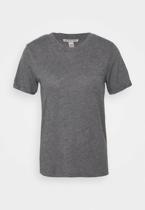T-shirts basic - mottled light grey