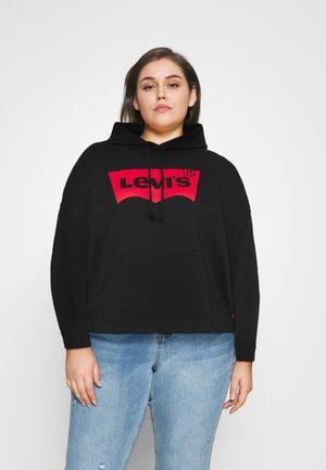 GRAPHIC HOODIE - Sweatshirt - black