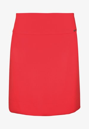 CICLEAN - Mini skirt - red