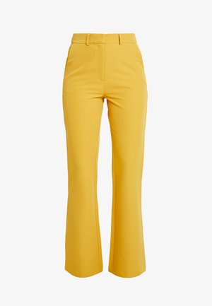 EXCLUSIVE MARIANNA TROUSER - Bukse - yellow