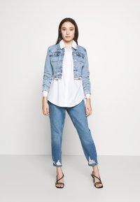 Vero Moda Petite - VMMIE SHIRT PETIT - Button-down blouse - bright white - 1