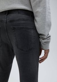 PULL&BEAR - Slim fit -farkut - dark grey - 4