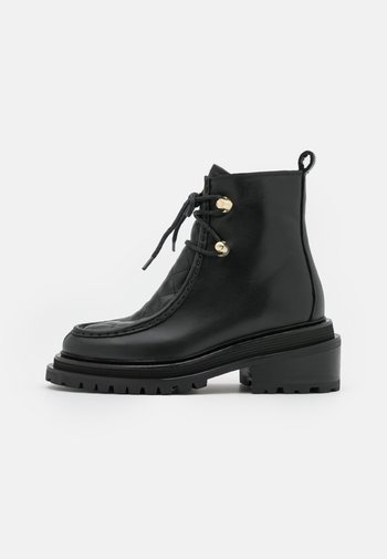 ELDORADO BOOTS - Platform ankle boots - noir