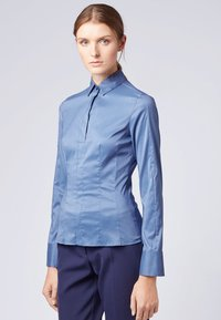 BOSS - BASHINA - Button-down blouse - blue - 0