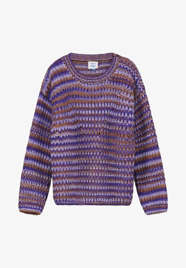 BEA - Jumper - purple brown
