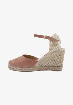 CARMEN - High heeled sandals - beige