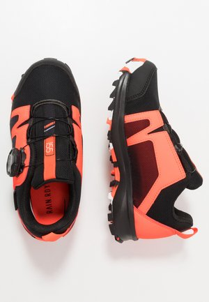 TERREX  AGRAVIC BOA R.RDY - Hiking shoes - core black/footwear white/solid red