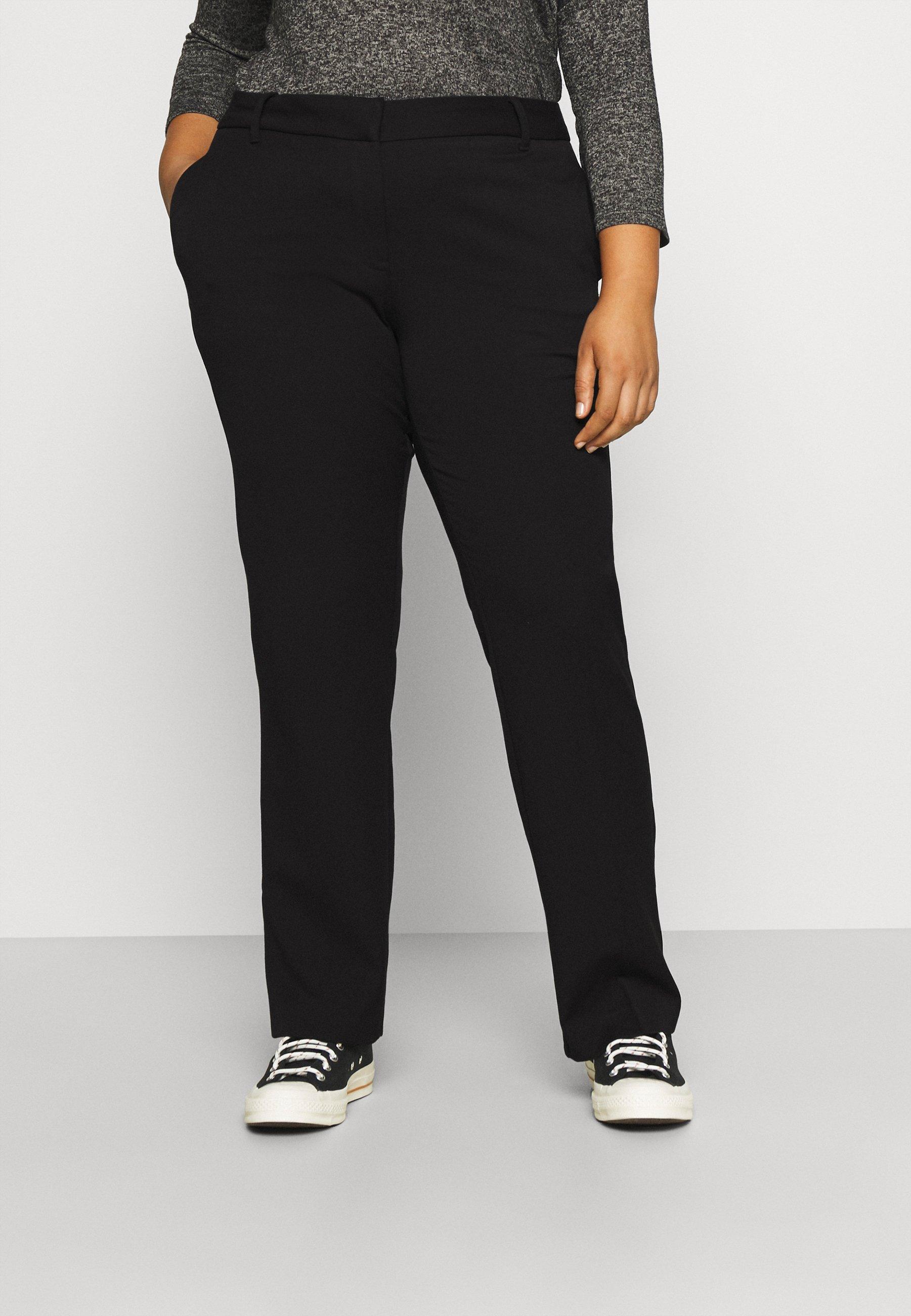 Donna VMEVERLY STRAIGHT PANT CURVE - Pantaloni