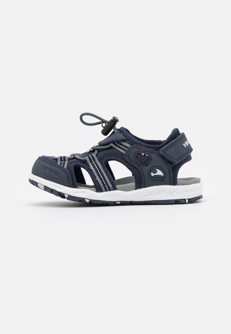Viking - THRILL UNISEX - Walking sandals - royal/orange