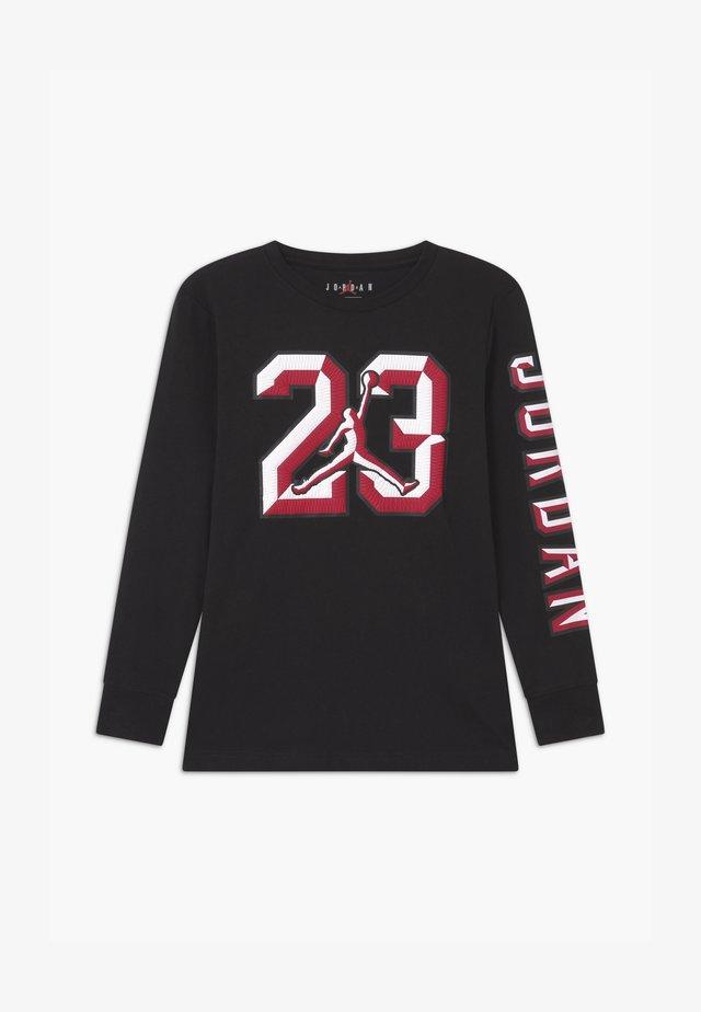 23 CHISELED - Long sleeved top - black