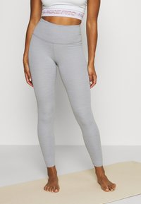 Nike Performance - THE YOGA LUXE - Tights - particle grey - 0