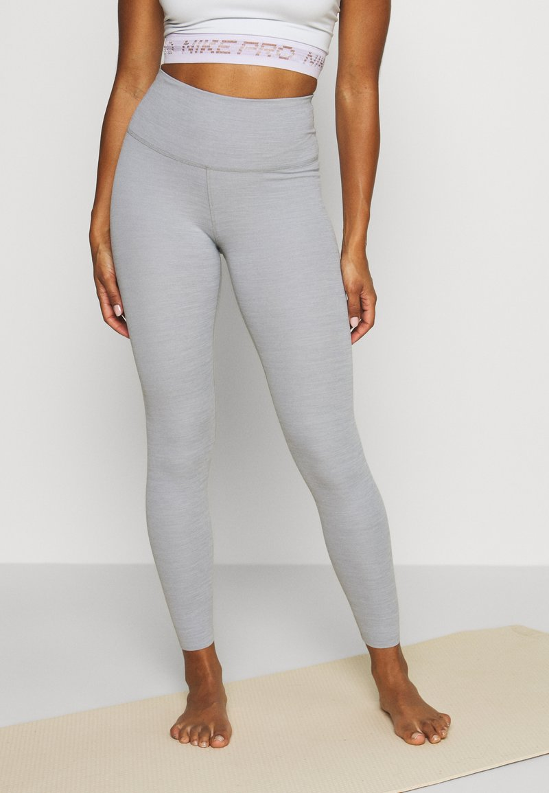 Nike Performance - THE YOGA LUXE - Tights - particle grey