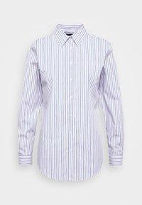Lauren Ralph Lauren - NON IRON SHIRT - Button-down blouse - white/blue - 3