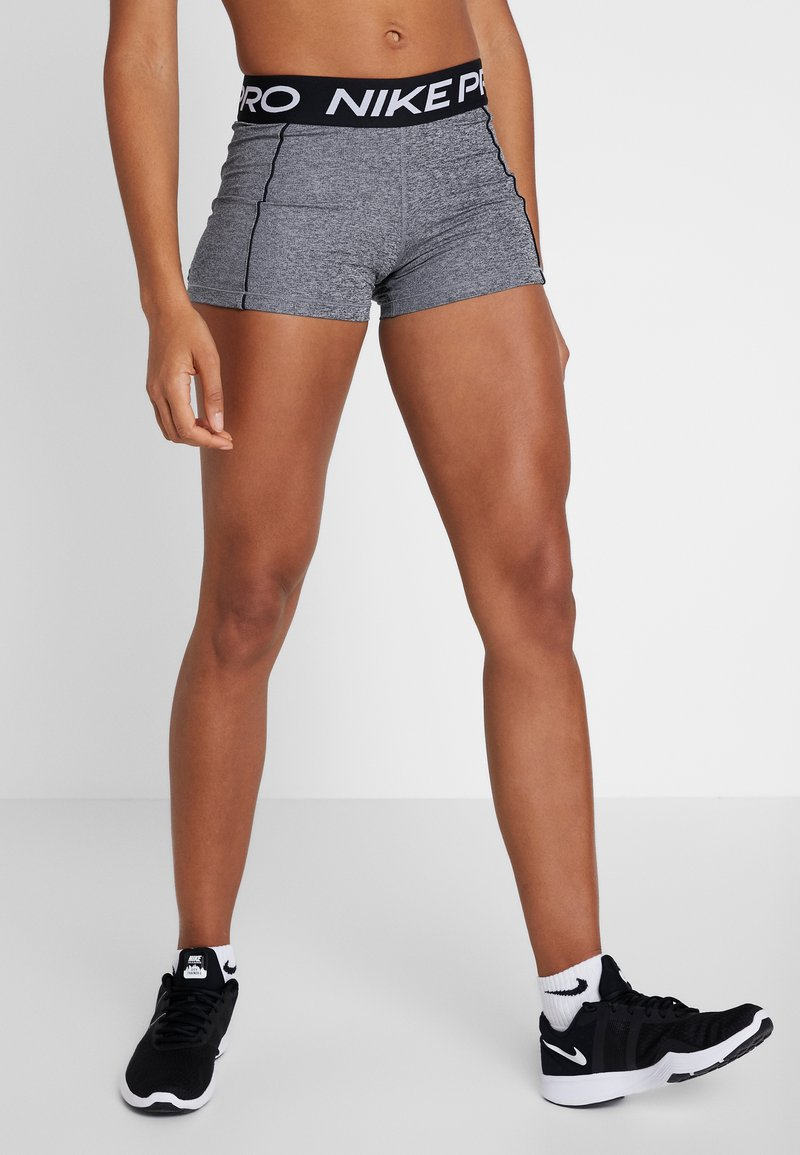 Nike Performance - SHORT SPACE DYE - Tights - cerulean/white