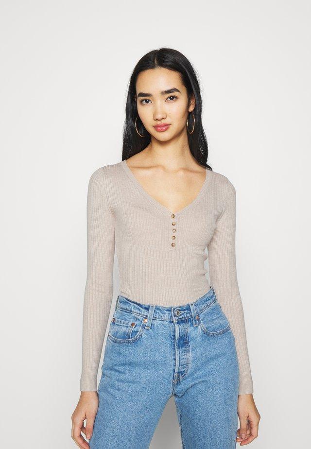Sweter - tan