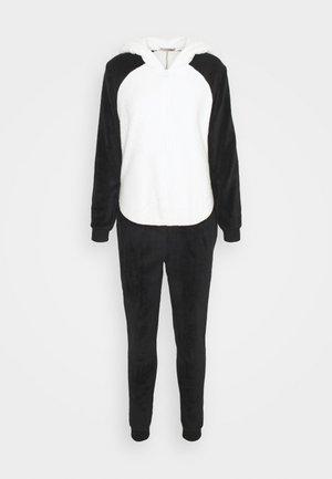 PANDA ONESIE  - Pyjamas - black