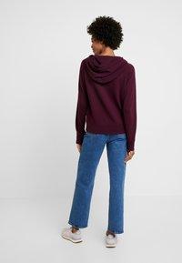 GAP - Zip-up hoodie - secret plum - 2