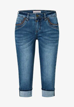 TALI - Denim shorts - sea blue wash