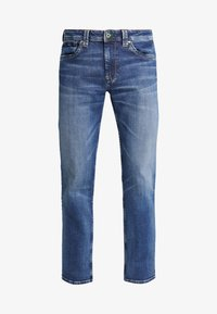 KINGSTON ZIP - Jeans a sigaretta - wiser wash med used