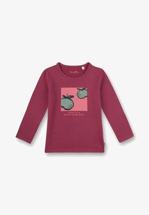 FRUITS  - Long sleeved top - rosa