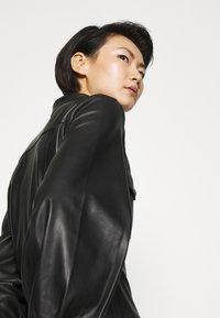 Bruuns Bazaar - PECAN ZADENA DRESS - Košilové šaty - black - 6