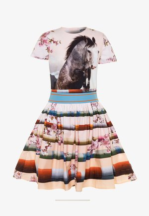 CANDY - Korte jurk - multicolor
