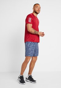 adidas Performance - OWN THE RUN TEE - Print T-shirt - red - 1