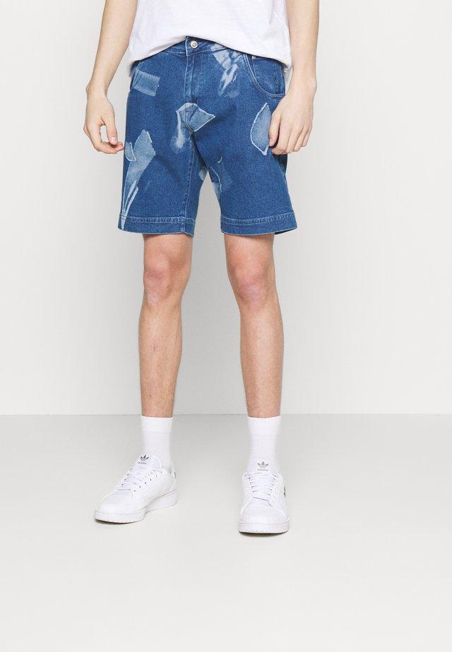 SHARD DENIM  - Denim shorts - blue
