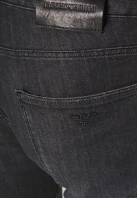 Emporio Armani - POCKETS PANT - Slim fit jeans - nero - 4